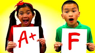 Emma and Andrew Learn Shapes and Math with Fun Kids Toys | Educational Videos for Children