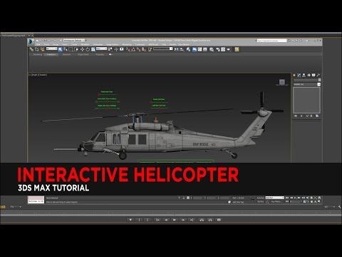 Interactive Helicopter in 3DS Max : Tutorial