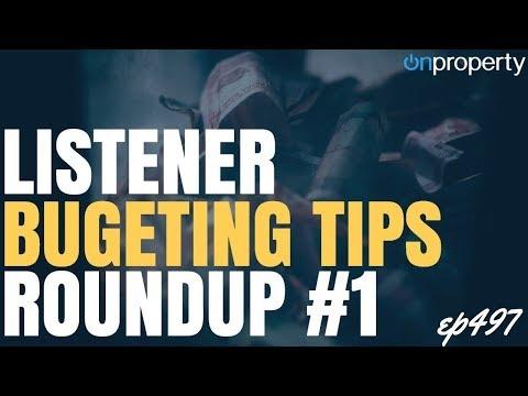 Listener Budgeting Tips: Roundup #1