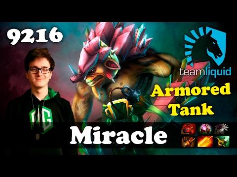 Miracle Bristleback [Armored Tank] | 9216 MMR Dota 2