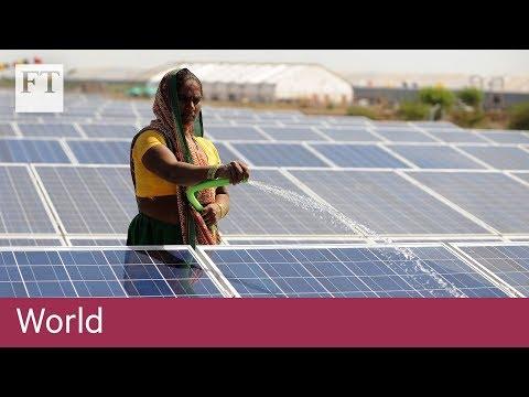 India puts up tariffs on Chinese solar panels