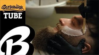 Beard waxing - beard shaping - fade haircut - hair plait