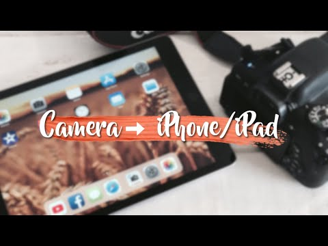 How to transfer videos from camera to iPhone/iPad | Tech Videos | Kayla's World