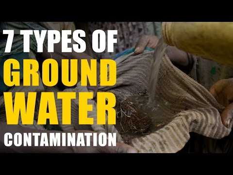7 Types of Groundwater Contamination