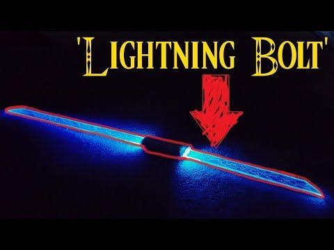 DIY: Lightsaber Sword/ Lightning Bolt Thing...