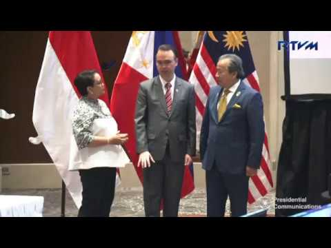 Trilateral Meeting Philippines, Malaysia and Indonesia 11/12/2017