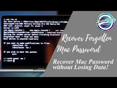 Reset MacOS without Loosing DATA! - How to? iMac/Macbook