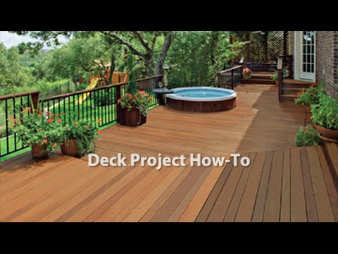 How-To: Stain a Deck