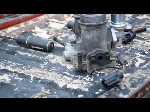 Throttle Position Sensor Replacement – 1995 F-250