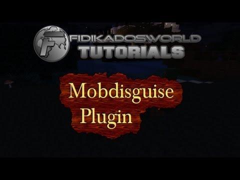 Mobdisguise - Minecraft Bukkit Server Plugin 1.2.5 - Selbstverwandlung in Tiere