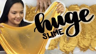 Making 100  Pounds Of Gold Slime I Craftyslimecreator