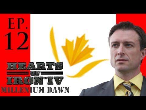 Hearts of Iron 4: Millennium Dawn (Libertarian Canada) Ep. 12: No End In Sight