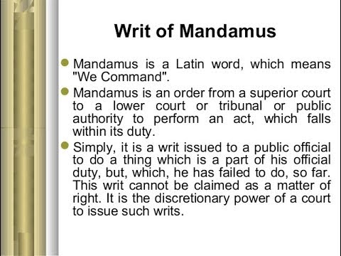CHILD SUPPORT: STOP FILING WRIT'S OF MANDAMUS