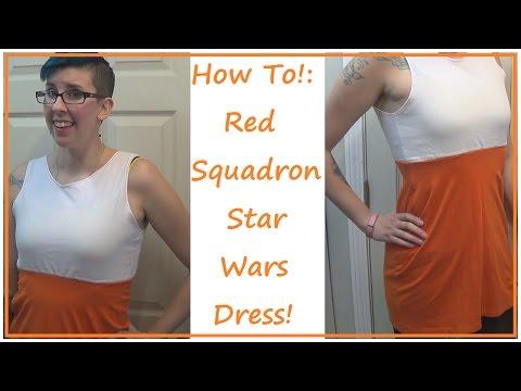 Star Wars Rebel Pilot Dress! | SEWING NERD!