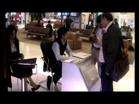 American Express activation at airport