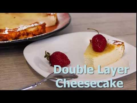 Fantastic Double Layer Cheesecake