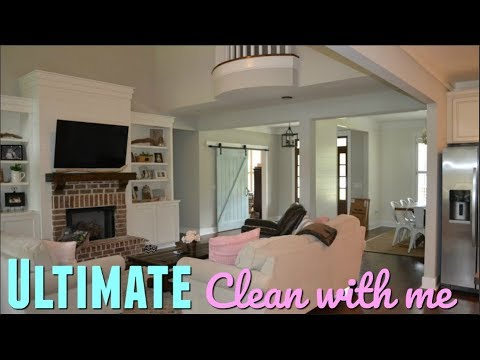 ULTIMATE CLEAN WITH ME // ENTIRE HOUSE CLEANING // CLEAN WITH ME 2018