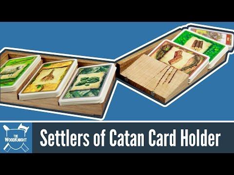 120 - Settlers of Catan Card Holder (mk2)