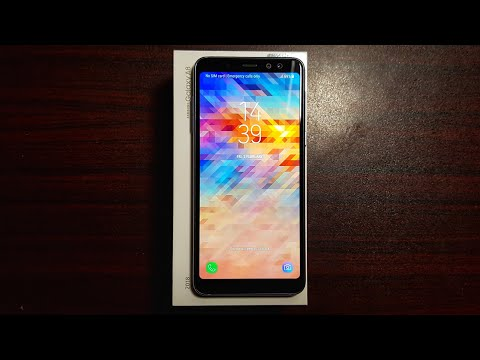 Samsung Galaxy A8 2018 Unboxing!