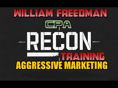 [ NEW HOT ] CPA RECON TRAINING by WilliaM  Freedman