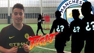 TARIFA vs MANCHESTER CITY!! FUTBOLISTAS CONTRA YOUTUBERS  [bytarifa]