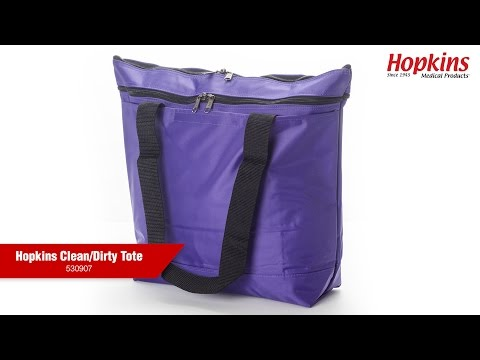 How the Hopkins Clean/Dirty Tote Helps Organize Your Healthcare Essentials