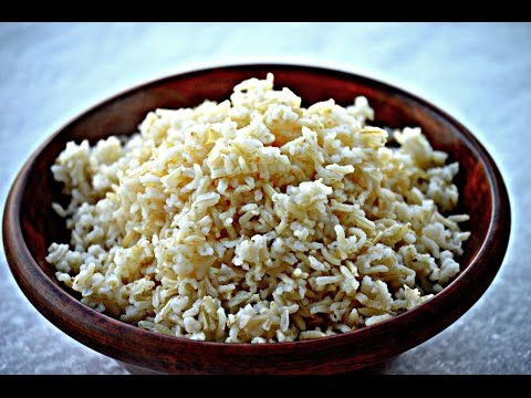 How to cook perfect brown rice | Cook perfect brown rice every time