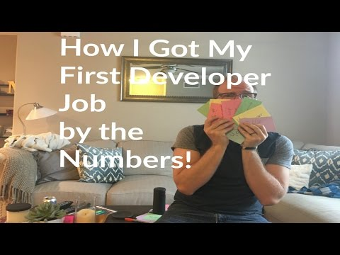 How I Got My First Developer Job | The Numbers