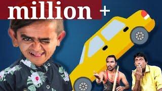 Chotu Dada Ki Car Gadde Mein | छोटू की कार गड्डे | Chotu Hindi Khandesh Comedy