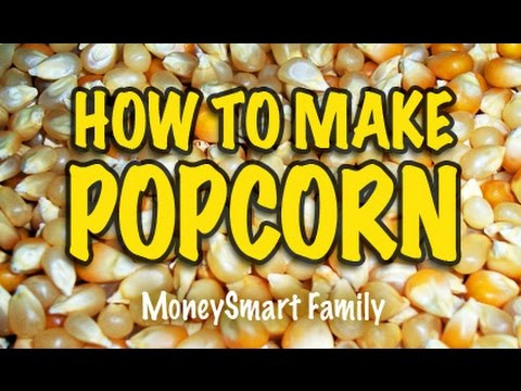 How to Make Air Popped Popcorn/ How to Cook Popcorn without Oil/ Air Popcorn Seasoning/ Popcorn Cook