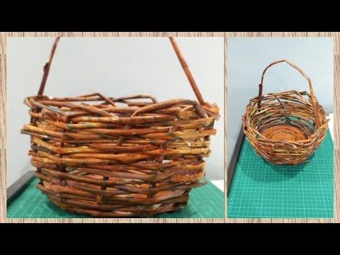 DIY - Newspaper Basket | Enjoy Crafting # 31