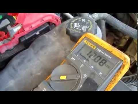 Using A Multimeter To Check an Automobile Battery and Charger