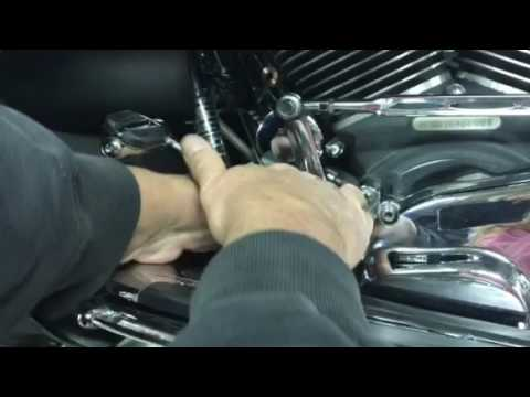 Harley no mess oil filter change