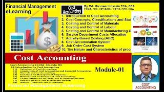 Cost Accounting (COA)_Module-01