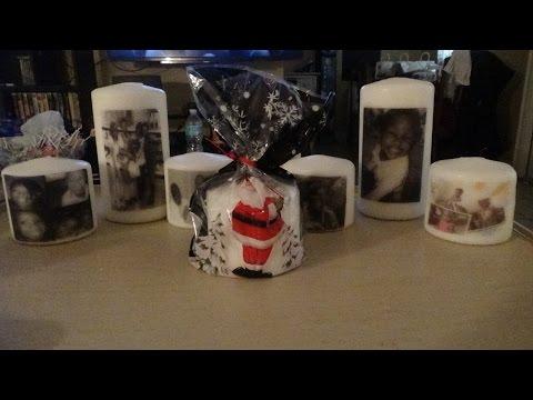 DIY Photo Candles