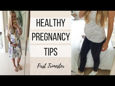 Healthy Pregnancy Tips//First Trimester// Diet & Exercise