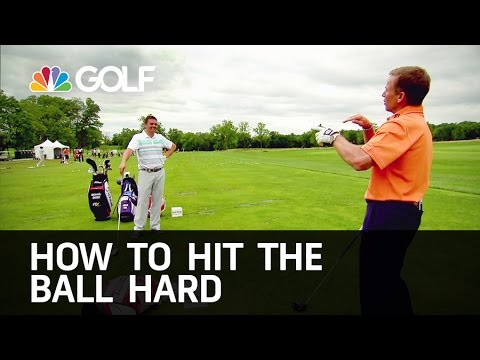 How to Hit the Ball Far - The Golf Fix | Golf Channel