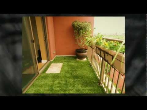 Balcony Landscaping by RugZoom