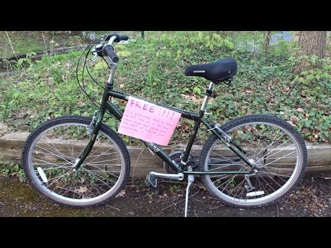 Found Free Bike Follow Up - Ready To Donate