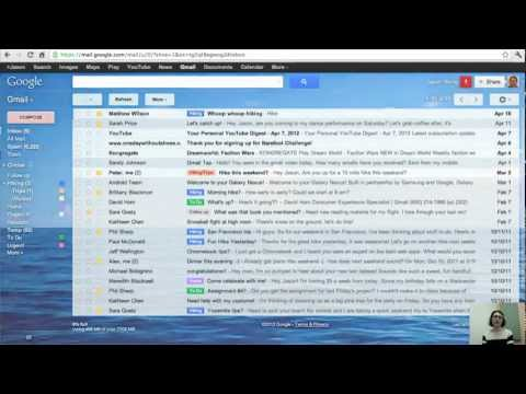 How to change the look of Gmail
