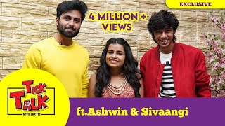 #Ashaangi Ashwin \u0026 Sivaangi Fun Interview in \