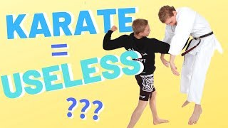 Why Karate DOESN'T WORK — Jesse Enkamp