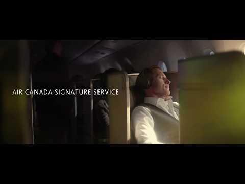 Air Canada: Introducing Air Canada Signature Service – Transcontinental