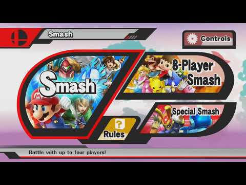 Super Smash Bros. for Wii U: v304 (Patch 1.1.7) UNDUB [System version 5.5.2]
