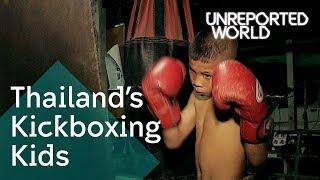 Muay Thai children fighting for cash   Unreported World