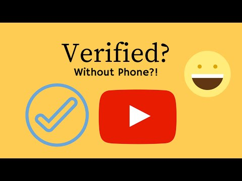 HOW TO VERIFY YOUR YOUTUBE ACCOUNT WITHOUT A PHONE NUMBER - 2016