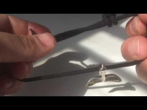 Double Slip Knot Tutorial // Paracord Necklace