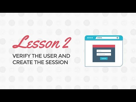 PHP Login and Registration Tutorial: Verify the User and Create the Session