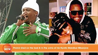 Hot new: Prokid died on the bed & in the arms of his Nyatsi Mandisa Mbanjwa