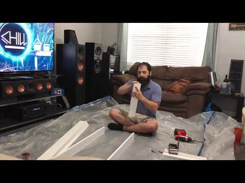 How to Make Acoustic Panels for Home Theater & Save Hundreds!!